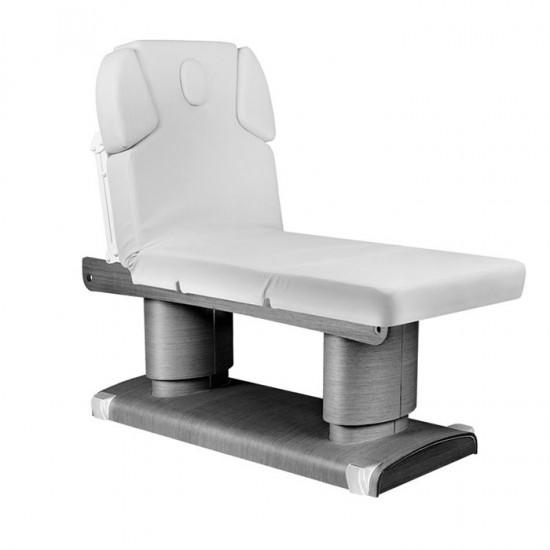 Ηλεκτρικό επαγγελματικό κρεβάτι μασάζ & αισθητικής γκρι Azzurro - 0123998