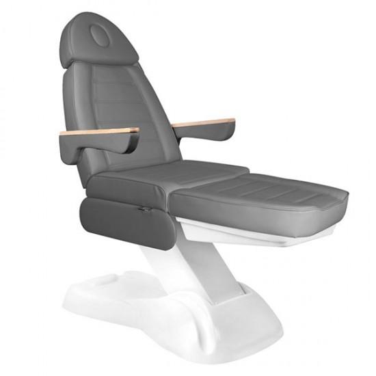 Επαγγελματική ηλεκτρική καρέκλα αισθητικής με 3 μοτέρ γκρι - 0125621