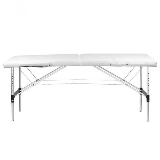 Κρεβάτι Μασάζ 2 Θέσεων Aλουμίνιο Πτυσσόμενο Comfort White - 0126962