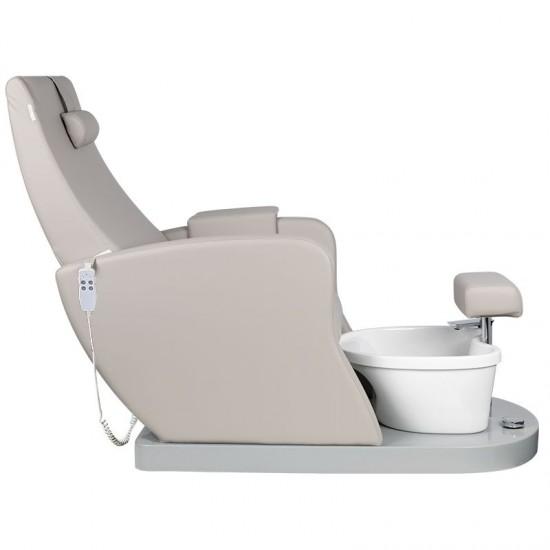 Πολυθρόνα Spa Azzurro με ηλεκτρική ρύθμιση καθίσματος και πλάτης  Gray - 0129105