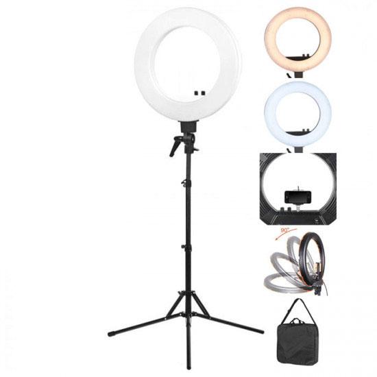 LED ring lamp light 18 '' + 48 Watt white - 0122572