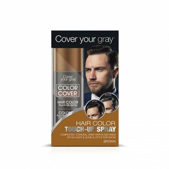 Cover Your Gray Spray κάλυψης λευκών μαλλιών Brown 57gr - 4472621