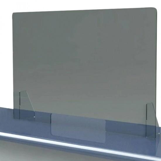 Plexi Glass Διάφανο Διαχωριστικό Ασφαλείας 4mm  50x50cm - 9100006