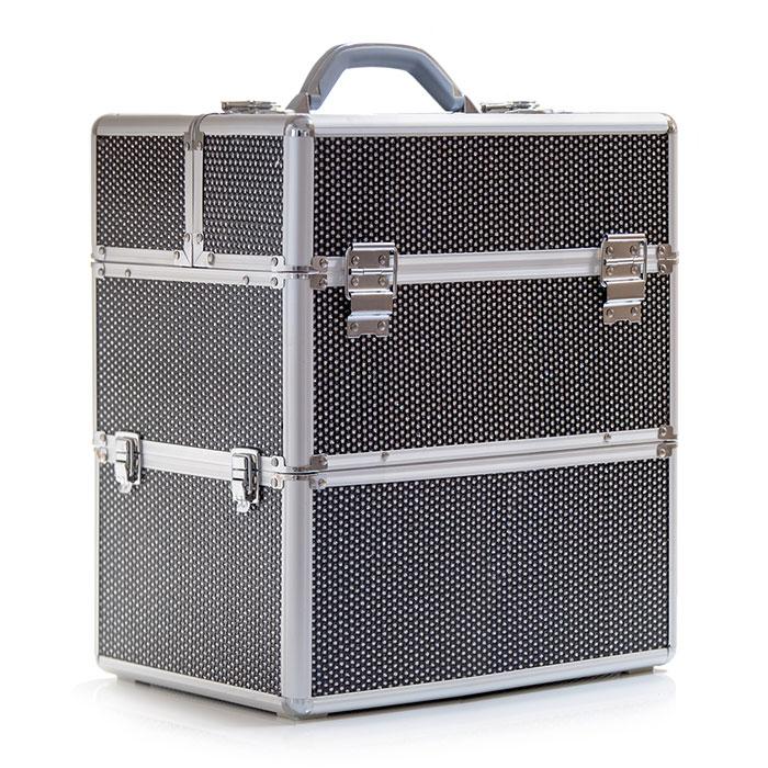 Επαγγελματική βαλίτσα ομορφιάς sparkle μαύρη - 3241150